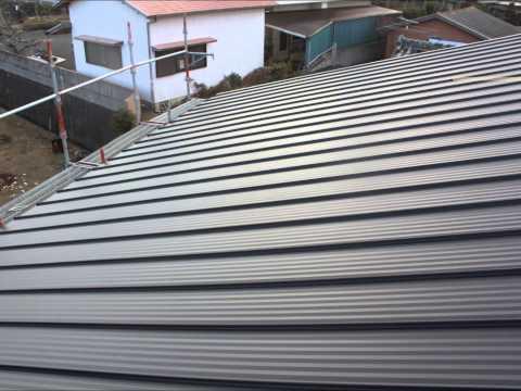 三重県浜島町U様・金属屋根(たてひら)屋根カバー工法|雨漏り修理専門 情熱リノベーション(株)