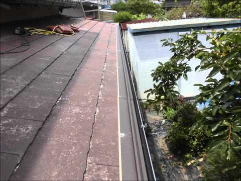 三重県津市久居野村町M様・アイジー工業(ガルテクトC)屋根カバー工法|雨漏り修理専門 情熱リノベーション(株)