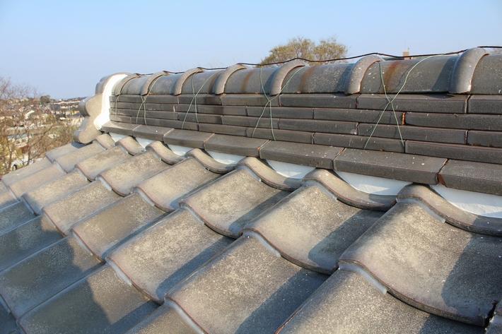 屋根漆喰-9