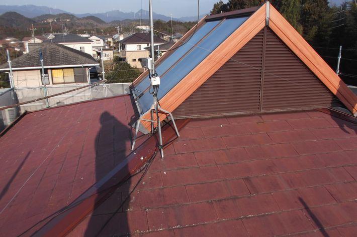 『屋根カバー工法・ガルテクトF アイジー工業』三重県津市稲葉町 Y様ビフォー画像