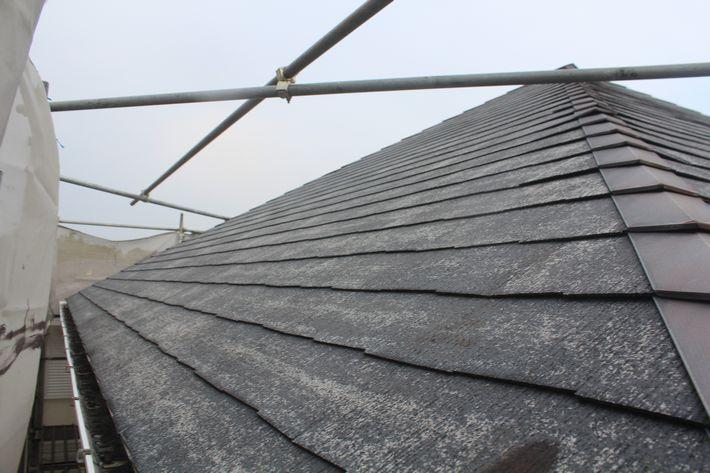 『屋根カバー工法・コロナ デクラ屋根システム』三重県三重郡菰野町 K様ビフォー画像