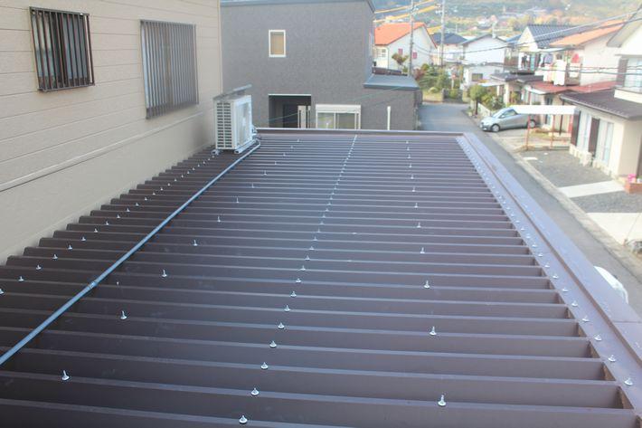 『屋根カバー工法・折半屋根』三重県桑名市多度町 I様アフター画像