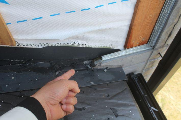 『外壁雨漏り補修工事』三重県名張市東田原 S様ビフォー画像