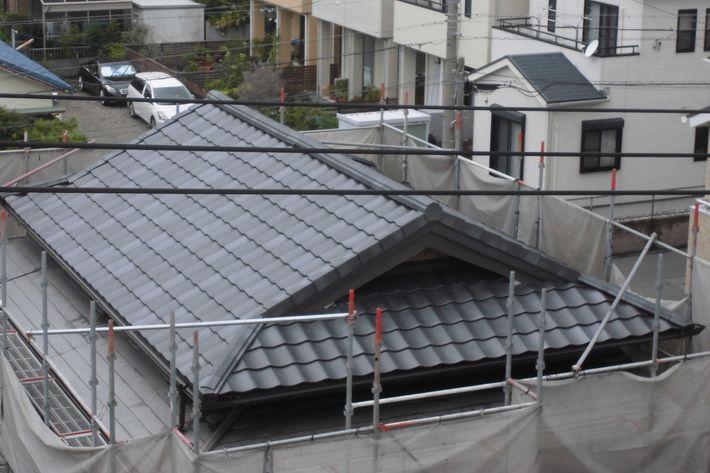 『屋根葺き替え工事・ルーガ雅 KMEW』三重県津市東丸之内 M様アフター画像