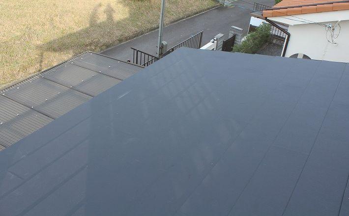 『屋根葺き替え工事・アイジー工業 ガルテクトC』三重県名張市美旗町 K様アフター画像