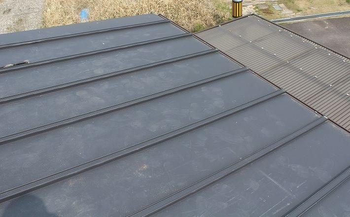 『屋根葺き替え工事・アイジー工業 ガルテクトC』三重県名張市美旗町 K様ビフォー画像